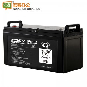 商宇 GW12100 UPS蓄电池12V 100AH 含安装,三年保