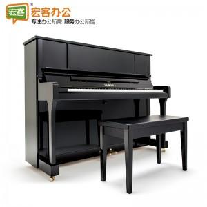 雅马哈YU系列 YU5X全新立式带琴凳演奏钢琴