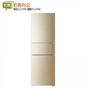 Haier/海尔 BCD-216WMPT三门风冷无霜节能静音宿舍小型家用电冰箱