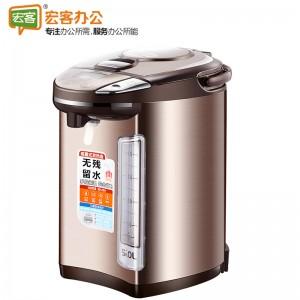 美的Midea PF704C-50G  304不锈钢5L容量多段温控电热水壶