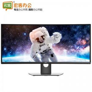 戴尔/DELL U3417W 34英寸高分辨率曲面IPS屏显示器 内置9W音箱