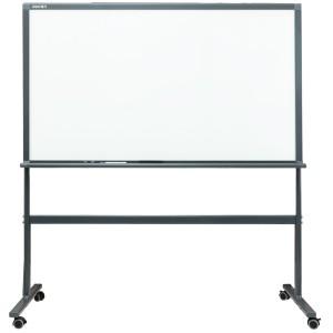 得力8737 带架钢化玻璃白板套装150*90cm