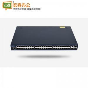 锐捷(Ruijie)RG-NBS252F 48口千兆二层网管企业级接入交换机