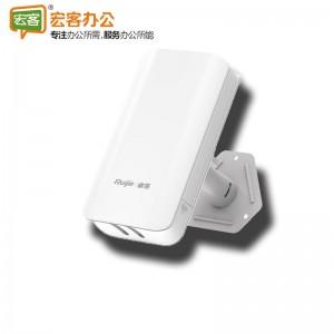 锐捷 RG-EST302 5G单频 3公里级(一对) 室外大功率智能监控wifi无线网桥 wifi信号中继放大器