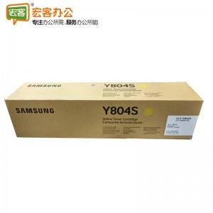 三星 CLT-Y804S 黄色原装墨粉盒 含人工服(SL-X3200NR/XIL)