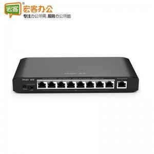 锐捷 RG-ES109G-LP 54W 支持一键VLAN POE交换机