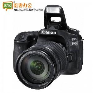 佳能Canon EOS80D 单反相机套装(EF-S 18-200mm f/3.5-5.6 IS)