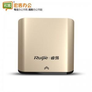锐捷 RG-EAP101 无线面板300M 无线面板AP白色金色