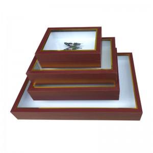 昆虫蝴蝶标本盒 漆布标本盒