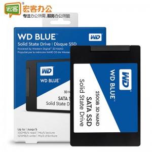 西部数据WD  Blue-250GB 3D企业级SSD固态硬盘/数据卡