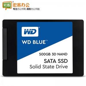 西部数据WD  Blue-500GB 3D企业级SSD固态硬盘/数据卡