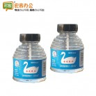 鹅牌 78克瓶装胶水/财务办公液体胶水/扁刷玻璃瓶胶水