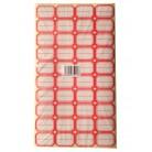 40-1     不干胶标签纸/书标/标签/标价贴   HK10053(蓝、红)