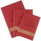 得力Deli  7581,7582,7383 卓越系列PU皮革材质荣誉证书