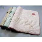 优质纯棉圈绒提花 防滑棉质地毯/门垫 (可选)