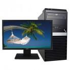 宏碁Acer Veriton D430 i3-6100+独显 22英寸宽屏商用台式电脑