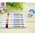 东洋SA101  9色油漆笔/中字记号笔/轮胎笔/油性笔