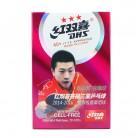 红双喜 三星优质国际正规比赛乒乓球 HK10974(6个装)