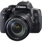 佳能Canon EOS750D 单反相机套装(EF-S 18-55mm f/3.5-5.6 IS)