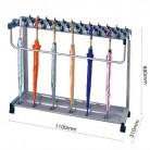 杰丽斯 高档铅合金锁芯 12,18,24,36头豪华型带锁雨伞架