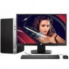 惠普HP 400G4 商用台式机电脑 i5-7500/4GB/1TB/120GSSD/DVD/20英寸
